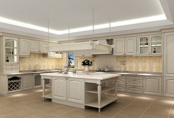 Hot sales Custom American solid wood cabinet America integral ambry solid wood cabinets kitchen cabinets
