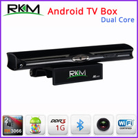 Free Fedex - Rikomagic RKM MK602 Dual Core Android TV Box RK3066 1GB DDR3+8GB Build in Bluetooth WiFi Camera 1080P - 20pcs/lot