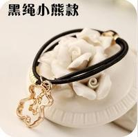 new pendant beaded hair band  hair accessories jewelry Little Bear bracelets B127