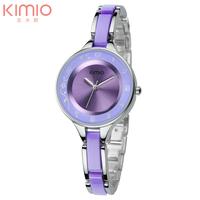 New Original Brand EYKI KIMIO Lady Fashion Bracelet Watch Japan Quartz with Tag Hours Women Casual Watch