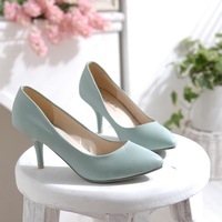 Fashion ladies' brief pointed toe solid color OL shoes single shoes high heel shoes size 35-43,free shipping,DX1642