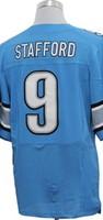 Retail&Wholesale Free shipping men elite jerseys matthew STAFFORD #9 blue american football jersey Stitched Jersey mix order