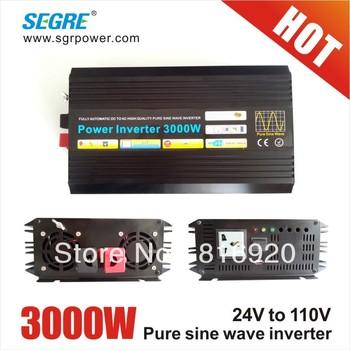 3000w pure sine wave 24v 110v solar off grid inverter wind generator with invertor.