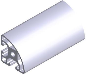 6pcs L1000mm for P8 40xR40x90S L aluminium profile