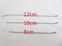 Global Free Shipping  Hot  1.5mm Stainless Steel Polished Material 304 Bead Chain  3 in.  4 in.  4.7 in.  Dog Tag Keychain