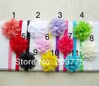 2013 NEW Baby Headbands 3.5inch Pearl Rhinestone Lace Flower Headband Girl hair accessories 60pcs/lot Free shipping