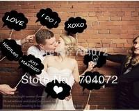 Presepio Wedding Invitation Box Wholsesale -10pcs/lot Mini Chalkboard Signs with Skewers Blackboards   Wedding Party Decorations