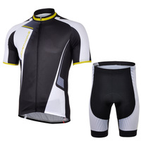 Free Shipping 2014 NEW! NW BlACK short sleeve cycling jerseys wear clothes bicycle/bike/riding jerseys+pants shorts