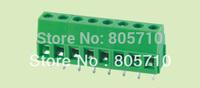 ELT128-5.0-3P PCB Screw Terminal Block, Low Profile, 5.0mm Pitch 3P 300V/10A  100pcs/lot  Free Ship!