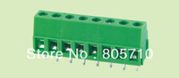 ELT128-5.0-3P PCB Screw Terminal Block, Low Profile, 5.0mm Pitch 3P 300V/10A  100pcs/lot  Free Ship!