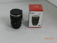 Free shipping  black EF 24-105mm 50ML fastness stainless steel lens cup