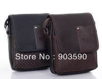 Free shipping 2013 spring and summer man fashion bag male shoulder bag messenger casual bag for business