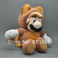 "Free Shipping New Super Mario Plush Series Plush Doll: 6.5"" Tanooki Mario"