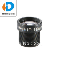 16mm Camera lens 3 Megapixel CCTV Camera lens 1/2.5 inch fixed iris M12 Mount F1.6 Aperture for security ip cam Free shipping