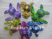 Free Shipping 40CM 6 Colors Big Eye Sea Turtle Plush Toy Doll Pillow Children Gift Car Home Decor Promotion Gifts