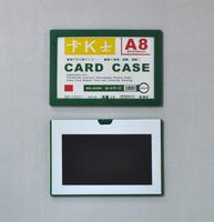 pvc card holder,plastic colour frame,card holder,contract case,transparent card case,magnet poster holder