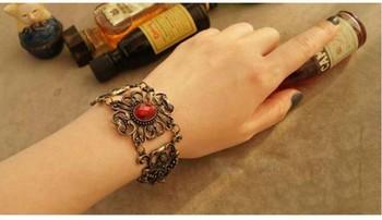 Wholesale jewelry on sale vintage clasp bracelet survival bracelet clasp 12 pieces / lot  FREE shipping