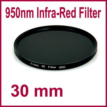 30mm IR 950nm Lens Filter Infrared Infra-Red For DSLR SLR Camera Optical Glass