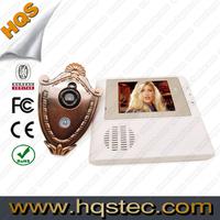 Peephole Viewer Camera Support Doorbell Function