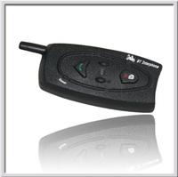 Free Shipping!! Real two-way wireless communication 500M Motorcycle BT Bluetooth Interphone Headsets Helmet Intercom