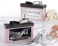 """Fashion wedding gifts """"It's a Shoe Thing"""" Shoe Bottle Opener bottle opener (set of 100) with FEDEX DHL UPS Free Shipping"""