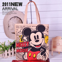 2011 canvas bag eco-friendly bag shoulder bag handbag women's