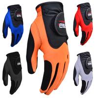 LEFT hand free shipping Pgm golf gloves ultra elastic magic golf gloves Men summer