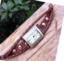 المناسبات الساعات النسائية 2014-Wholesale-Vintage-Braided-Watches-Bracelets-Bangles-font-b-Women-b-font-Ladies-Genuine-Cow-Leather.jpg_220x220.jpg