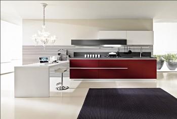 2015 new free design Custom 2pac kitchen cabinet Lacquer kitchen furniture hot sales modular kitchen