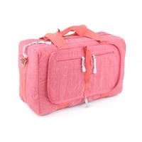 Handbag travel bag waterproof nylon folding bag travel bag one shoulder cross-body red