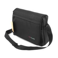Male fashion casual bag brief light one shoulder messenger bag big bag black student bag