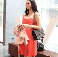 2014 Summer Dress Chiffon Dress for Preanant Women Maternty Dress for Pregnancy 1202 003