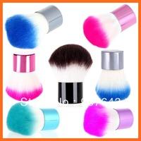 Professional Kabuki Blusher Brush Foundation Face Powder makeup make up brushes Set Cosmetic Brushes Kit Makeup Tools 5 colors