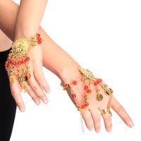 Belly dance accessories set accessories pearl bracelet gold p20