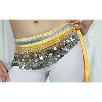 Belly dance silver coin 248 belly chain belly chain belly dance handmade