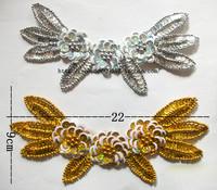 Dance clothes accessories national clothes decoration belly dance Latin dance paillette flower decoration