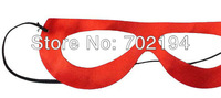 100 x Newest Power man eyeshade Red eyspatch Carnival for Halloween Masquerade Dance Party eye cover in free shipping