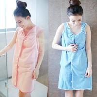 Free shipping microfiber Creative Variety Magic bath towel can be WEAR bathrobe 5 colors 155*86cm