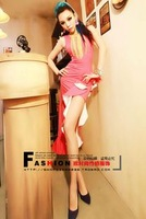 lady gaga Fashion female singer formal dress dovetail full dress ds Latin dance costume one-piece dress