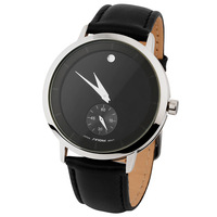 2013 NEW SINOBI watch Women Men 3ATM WR High quality Cowhide Wrist watch gift hours ,FREE SHIPPING