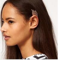 MixedLot $14 Free shipping 68648 fashion punk metal fairy ear hook earrings earring no pierced