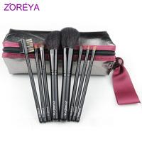 Big zoreya 8 wool cosmetic brush set brush set makeup tools cosmetic set