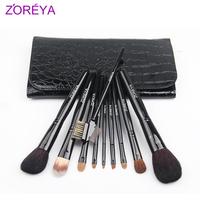 Zoreya 10 brush set loose powder brush blush brush the professional make-up cosmetic tools cosmetic brush set
