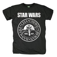 Free Shipping Star wars 2013 seal george middot . lucas fashion t-shirt