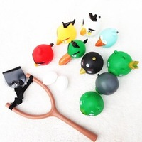 NEW SERIES Hero Birds SLINGSHOT LAUNCHER 9 figures+1 Slingshot 9+1