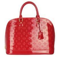 Women's handbag japanned leather bag red bag bridal bag marry bag handbag