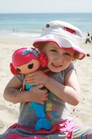 Free shipping  Lalaloopsy   MGA magical sew cute dolls for girls american girl toy birthday gift  LOTTE 512950 water mermaid