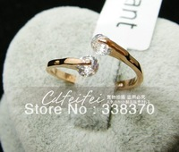 Fashion Creative luck elegant Fortunes crystal ring