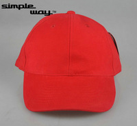 Free shipping Plain red baseball    cap,Hat