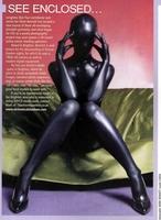 Customize black glue all-inclusive tights bodysuit shaper sexy costume